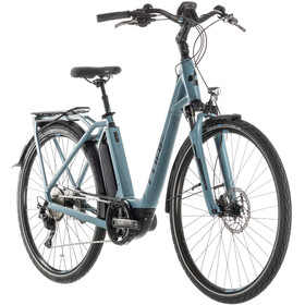Cube Town Sport Hybrid Pro 400 Easy Entry, blue'n'black